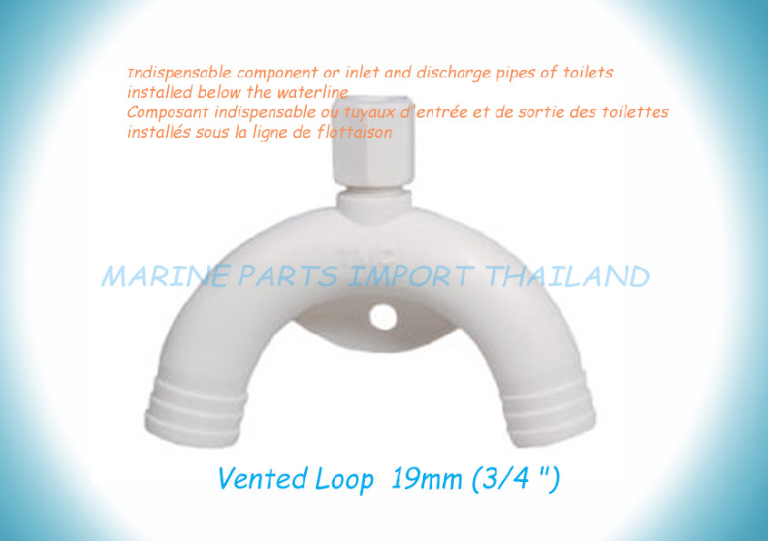 Vented Loop 19mm-3/4 Nylon