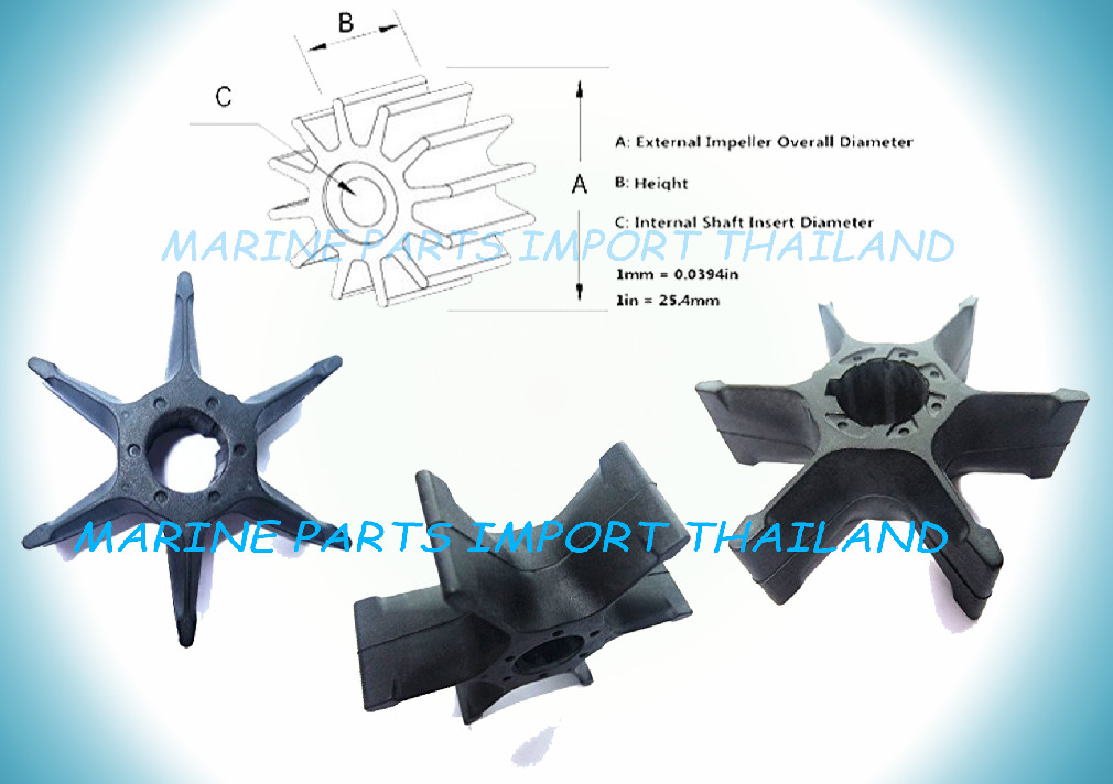 IMPELLER YAMAHA 40HP MERCURY 40HP