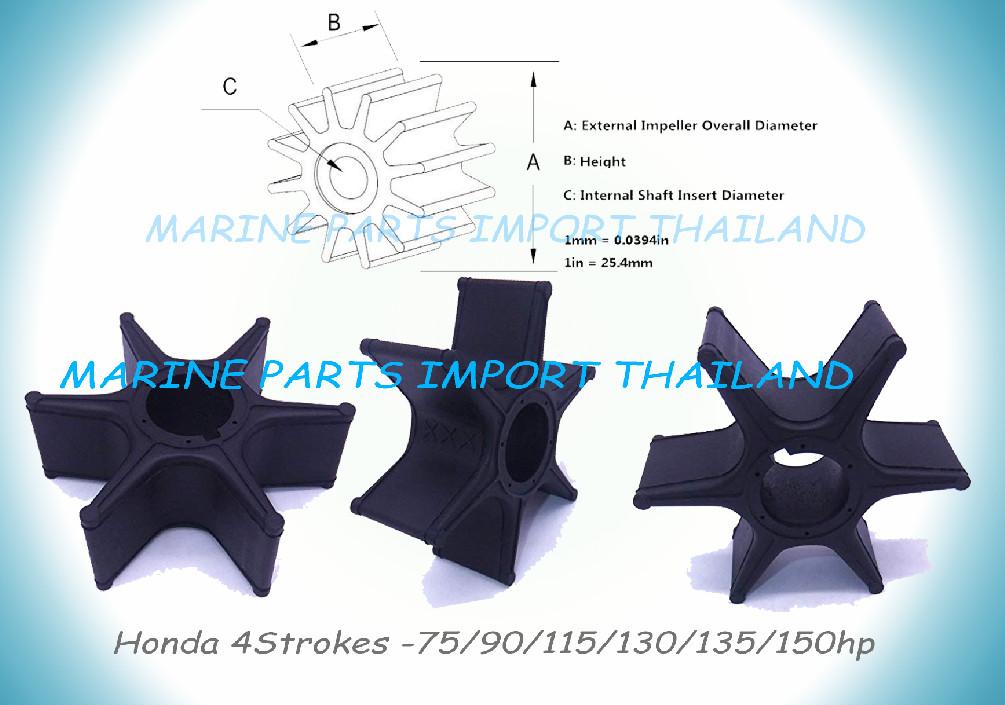 Boat Marine Chandlery Provide Impeller Honda 7590115130135150hp