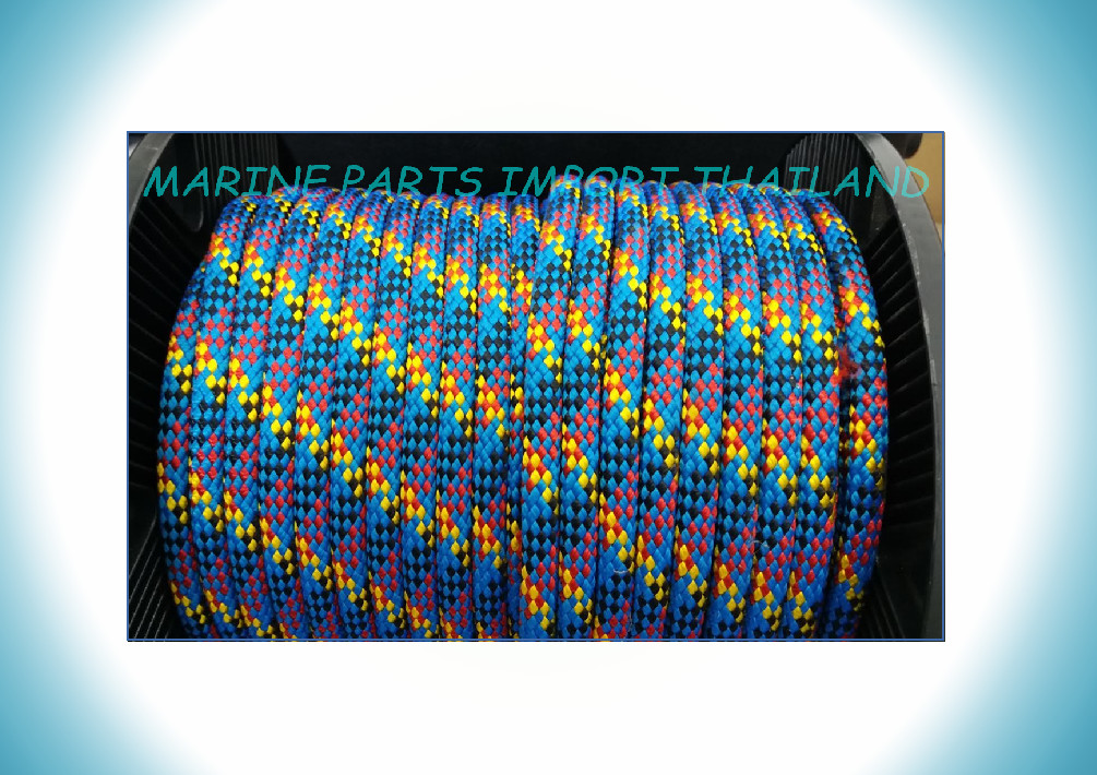 HALYARDS/SHEETS  Rope Multiple Colors 12m