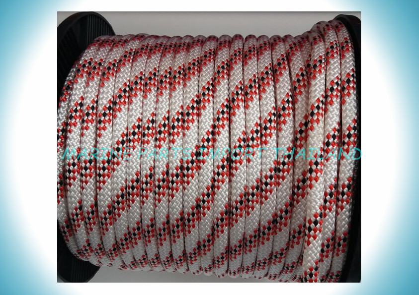 HALYARDS/SHEETS  Rope WH-R-BK  10mm