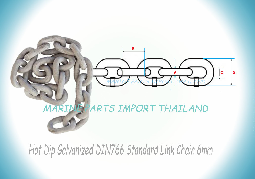 Chain Calibrated Quality DIN 766