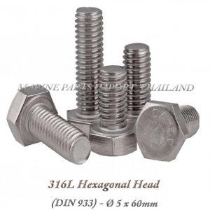 Hexagonal20Head20316L 5x60mm202820Pack20of202202920 0POS