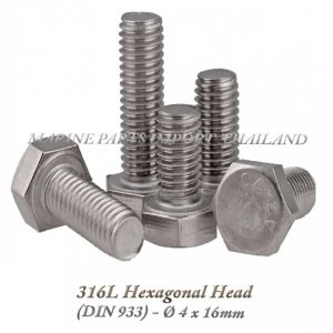 Hexagonal20Head20316L204X16mm202820Pack20of202202920 0POS