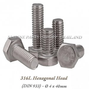 Hexagonal20Head20316L204X40mm202820Pack20of202202920 0POS