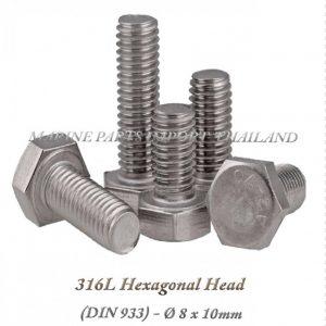 Hexagonal20Head20316L208x10mm202820Pack20of202202920 0POS