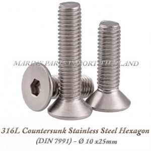316L20Countersunk20Stainless20Steel20Hexagon2010X25mm202820Pack20of202202920 0POS
