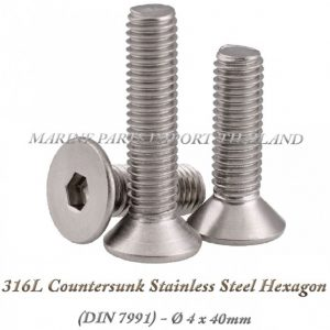 316L20Countersunk20Stainless20Steel20Hexagon204X40mm202820Pack20of202202920 0POS