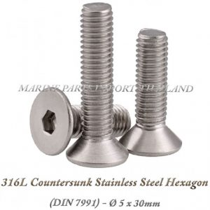 316L20Countersunk20Stainless20Steel20Hexagon205X30mm202820Pack20of202202920 0POS
