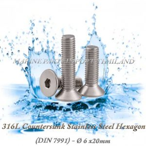 316L20Countersunk20Stainless20Steel20Hexagon206X20mm202820Pack20of202202920 00POS