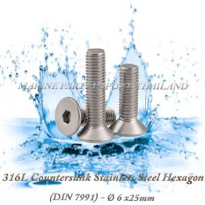316L20Countersunk20Stainless20Steel20Hexagon206X25mm202820Pack20of202202920 00POS