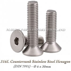 316L20Countersunk20Stainless20Steel20Hexagon206X30mm202820Pack20of202202920 0POS