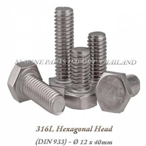 Hexagonal20Head20316L 12x40mm202820Pack20of202202920 0POS JPG