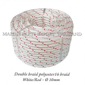 TURBO20Double20braid20Polyester20rope201620braid 2010mm White Red20 0posJPG 1