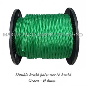 TURBO20Double20braid20Polyester20rope201620braid 206mm Green 0posJPG