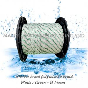 TURBO20Double20braid20Polyester20rope201620braid 208mm White20Green2014mm 00pos