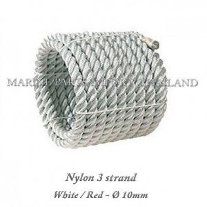 Nylon20320strand2010mmx10m WHite Red2020 101pos