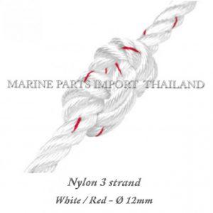 Nylon20320strand2012mm WHite Red2020 11pos