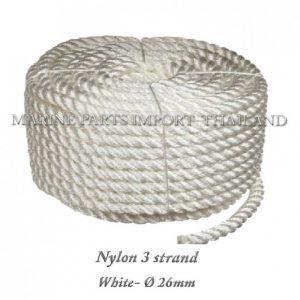 Nylon20320strand2026mm WHite20 0pos